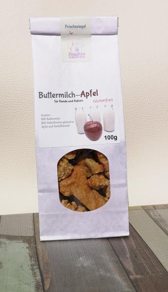 Buttermilch-Apfel