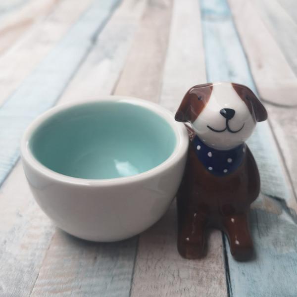 Eierbecher mit 3D Hund