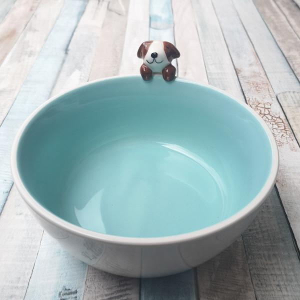 Müslischale mit 3D Hund